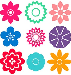 Floral templates vector