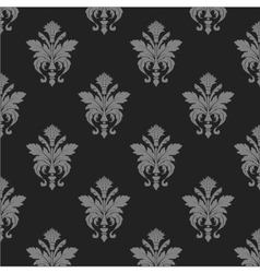 Damask wallpaper seamless pattern vector