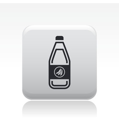 fruit juice icon vector image