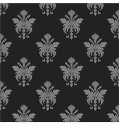 Damask wallpaper seamless pattern vector