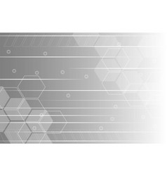 grey and white abstract background vector image vector image