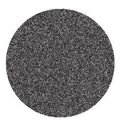 Halftone circle banner vector