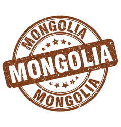 Mongolia stamp vector