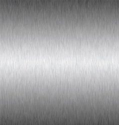 silver square metal background vector image