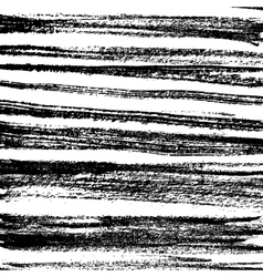 set of grunge brush strokes collection vector image