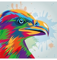 Eagle icon animal and art design graphic vector