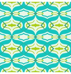 Arabic pattern in bright vibrant colors vector image