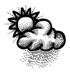 Cartoon image of weather icon day symbol vector