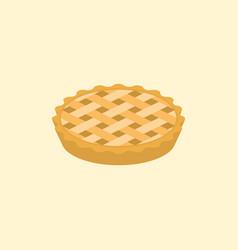 Crust pie vector