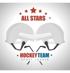 Hocket sport game vector