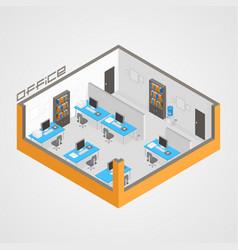 Office room it development vector