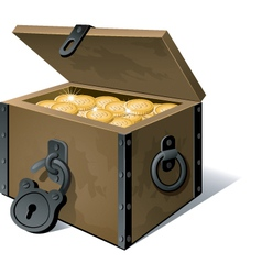 treasure vector image vector image