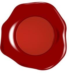 Wax seal vector image vector image