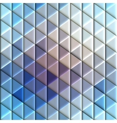 Abstract seamless rhombus pattern vector