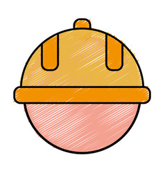 Safety helmet icon vector