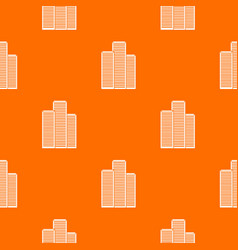 Skyscrapers in singapore pattern seamless vector