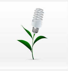 The concept of eco-technology energy saving vector