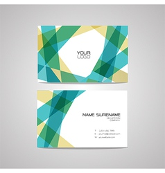 Business card design template can be edite vector
