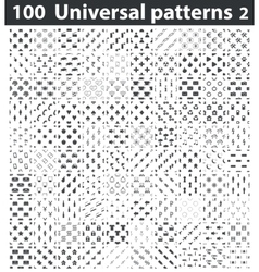 Universal patterns set 2 vector