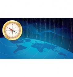 business navigation vector image