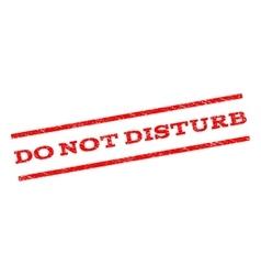Do not disturb watermark stamp vector