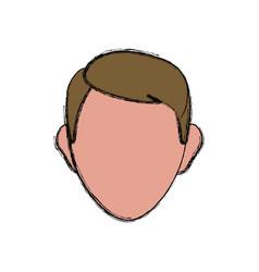 Head man vector