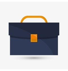 suitcase design bag icon Colofull vector image vector image