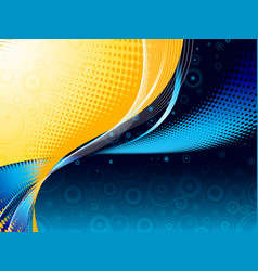 modern night abstract vector image