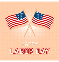 Labor day card 2 vector