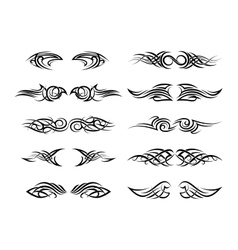 Tattoo patterns vector