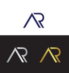Ar initials vector