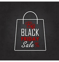 Black Friday Sale Calligraphic Designs vector image