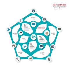 Creative business infographics set element vector