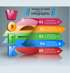 Euro work icon business infographics vector