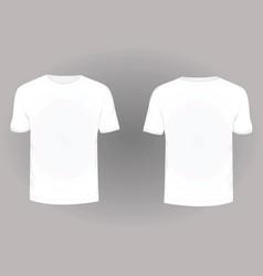 t shirt2 vector image