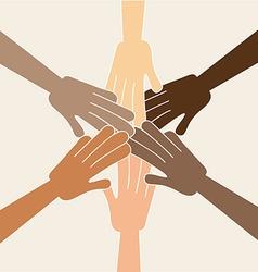 team design vector image