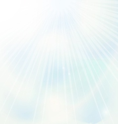 Blue sky background vector