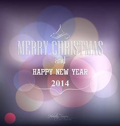 christmas poster 2 vector image