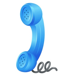 Telephone receiver vector