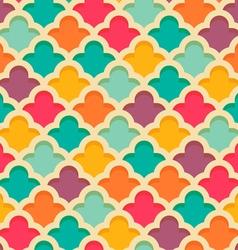 quatrefoil moroccan pattern vector image vector image
