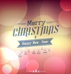 christmas poster 4 vector image