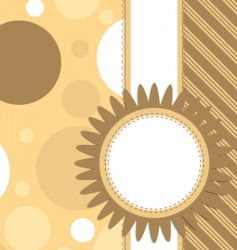 card template vector image