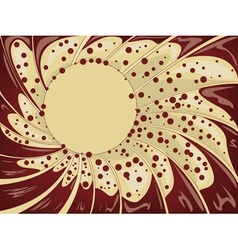 Abstract creamy background2 vector image