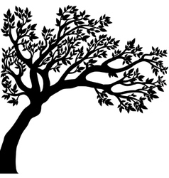 Drawing of the tree vector