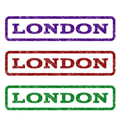 london watermark stamp vector image