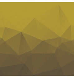 Geometric background with triangles and stripes vector