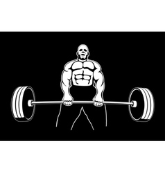 Body builder 3 vector