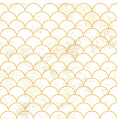 Aged asian pattern white vector