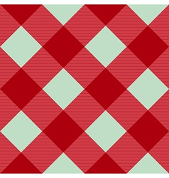 Red pink green diamond chessboard background vector