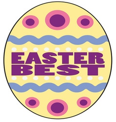 Easter best vector